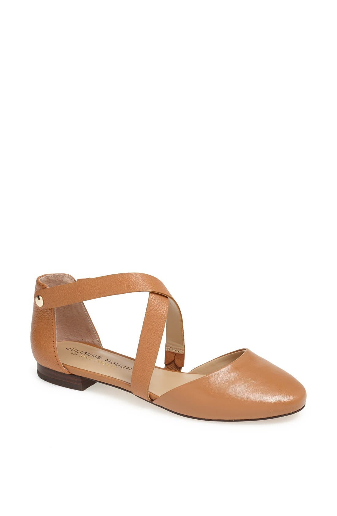 Main Image - Julianne Hough for Sole Society 'Ananda' Leather Flat