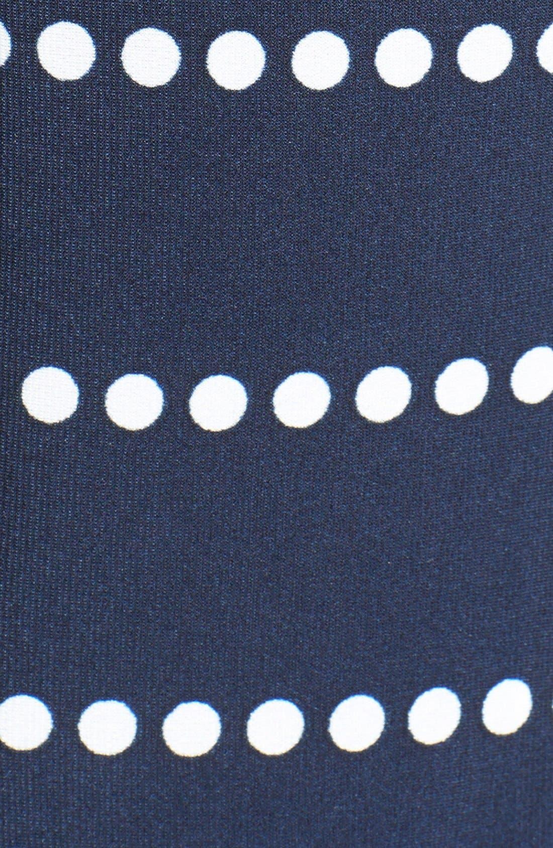 Alternate Image 3  - Taylor Dresses Side Tie Print Jersey Sheath Dress (Petite)
