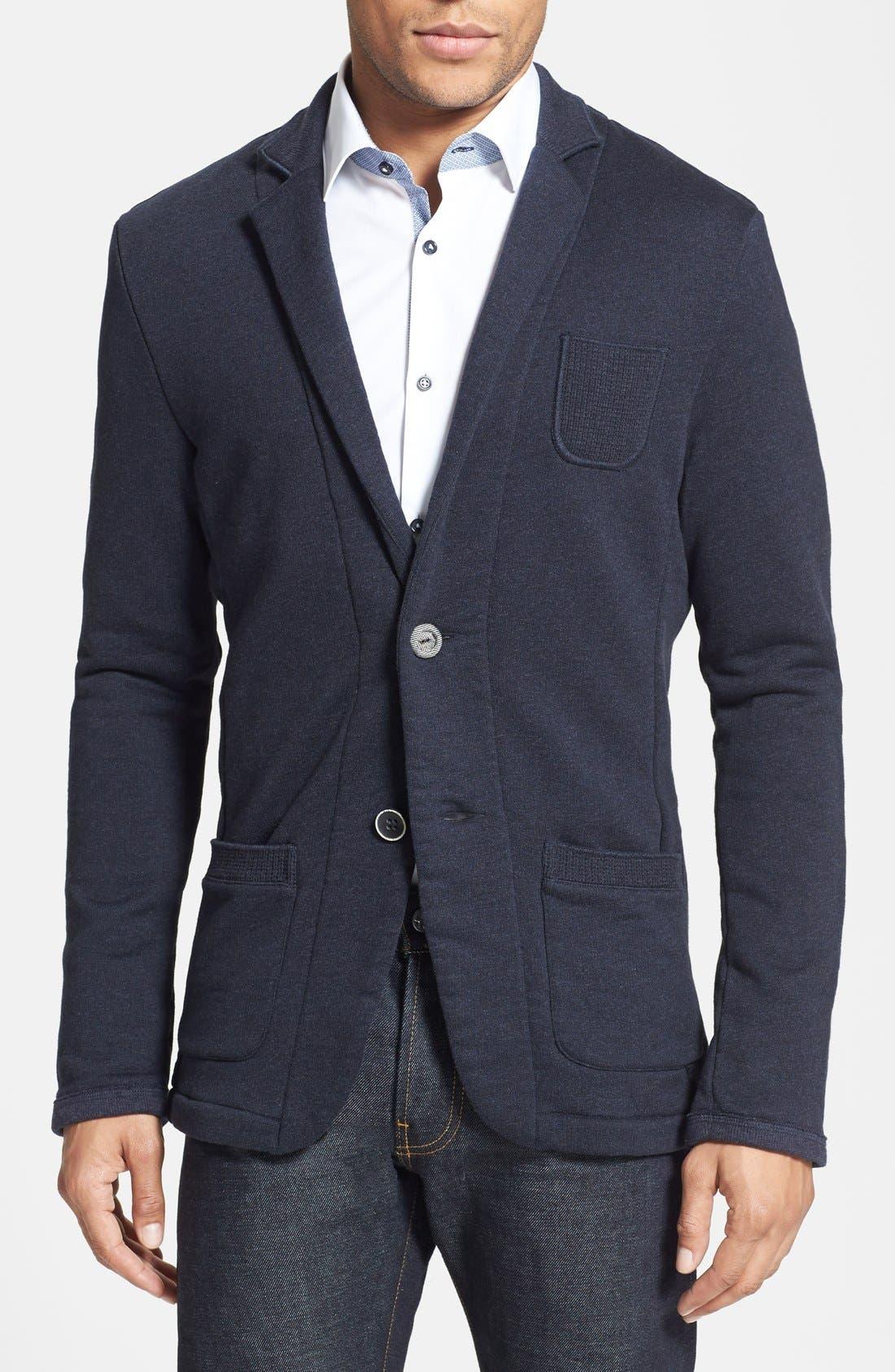 Alternate Image 1 Selected - BOSS Orange 'Wayn' Cotton Knit Blazer