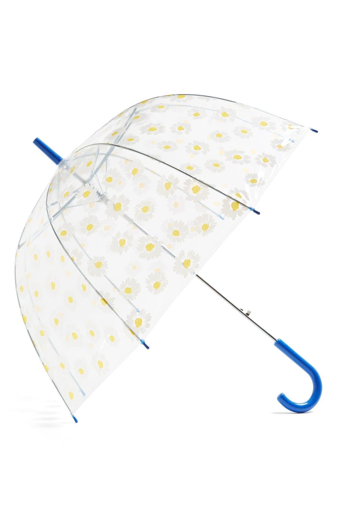 Alternate Image 1 Selected - Tri-Coastal Design Daisy Dome Umbrella (Juniors) (Online Only)