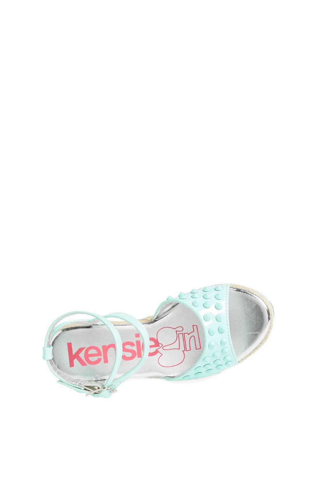 Alternate Image 3  - kensie girl Studded Wedge Sandal (Toddler, Little Kid & Big Kid)