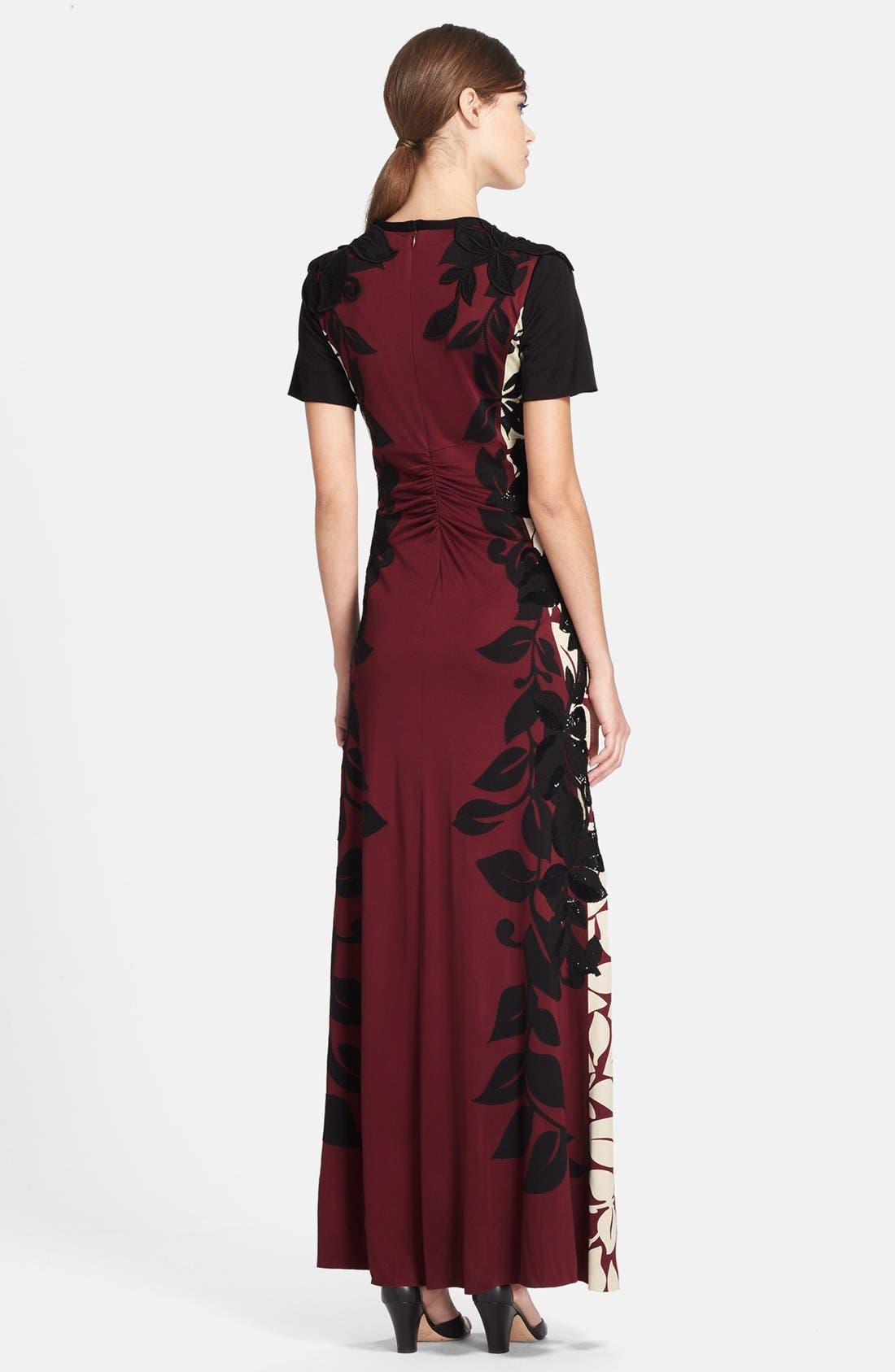 Alternate Image 2  - MARC JACOBS Embellished Print Gown