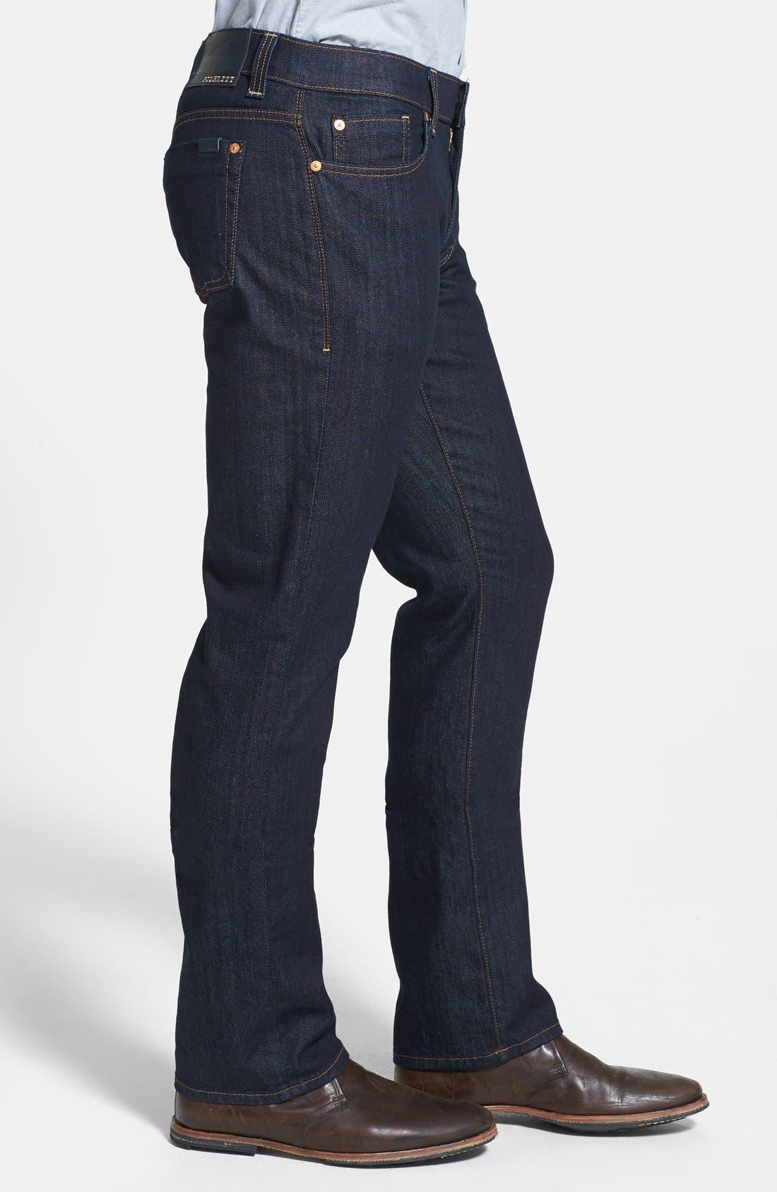 Alternate Image 3  - Fidelity Denim 'Impala' Straight Leg Jeans (Town Rinse)