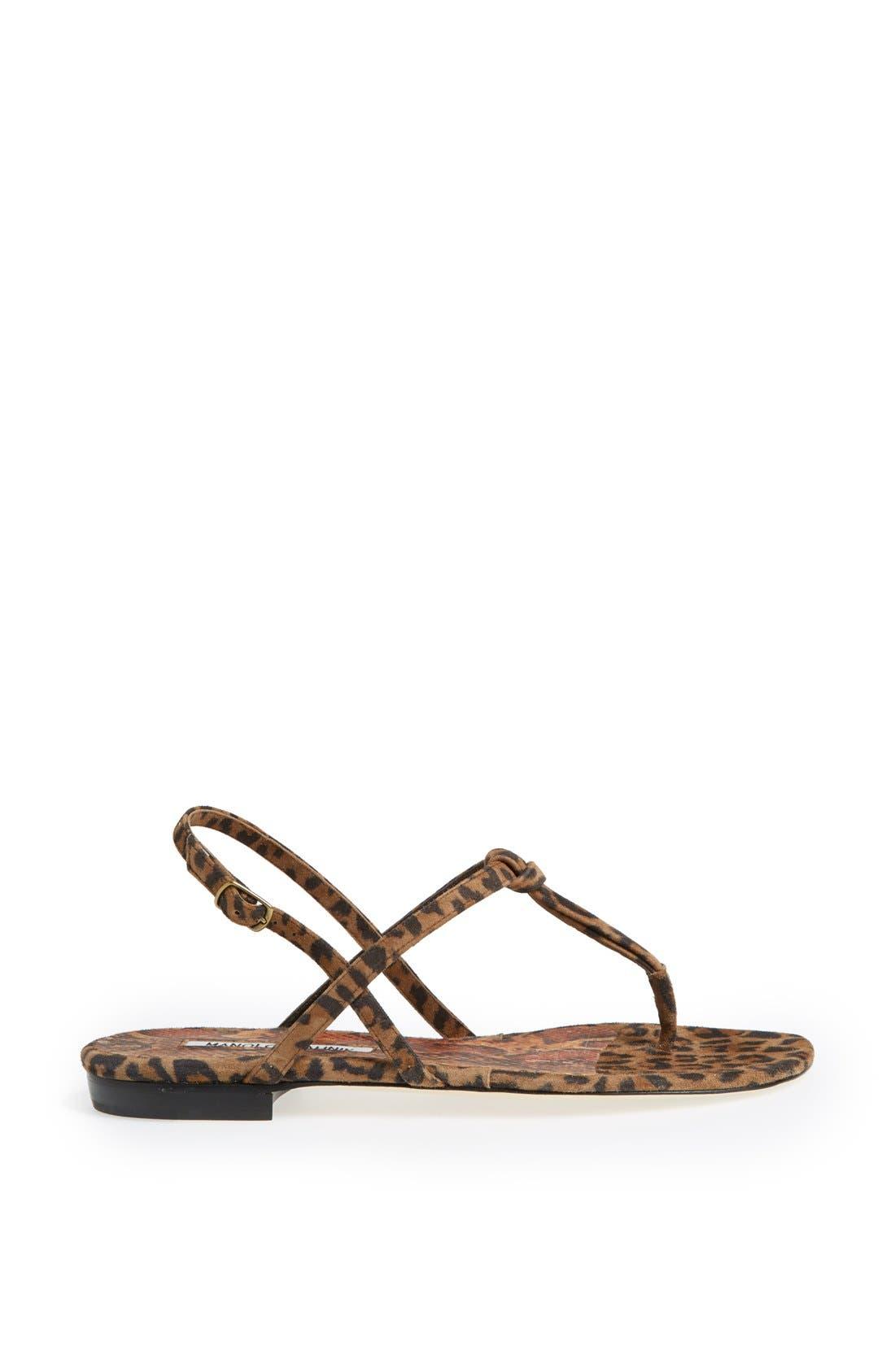 Alternate Image 4  - Manolo Blahnik 'Valig' Sandal