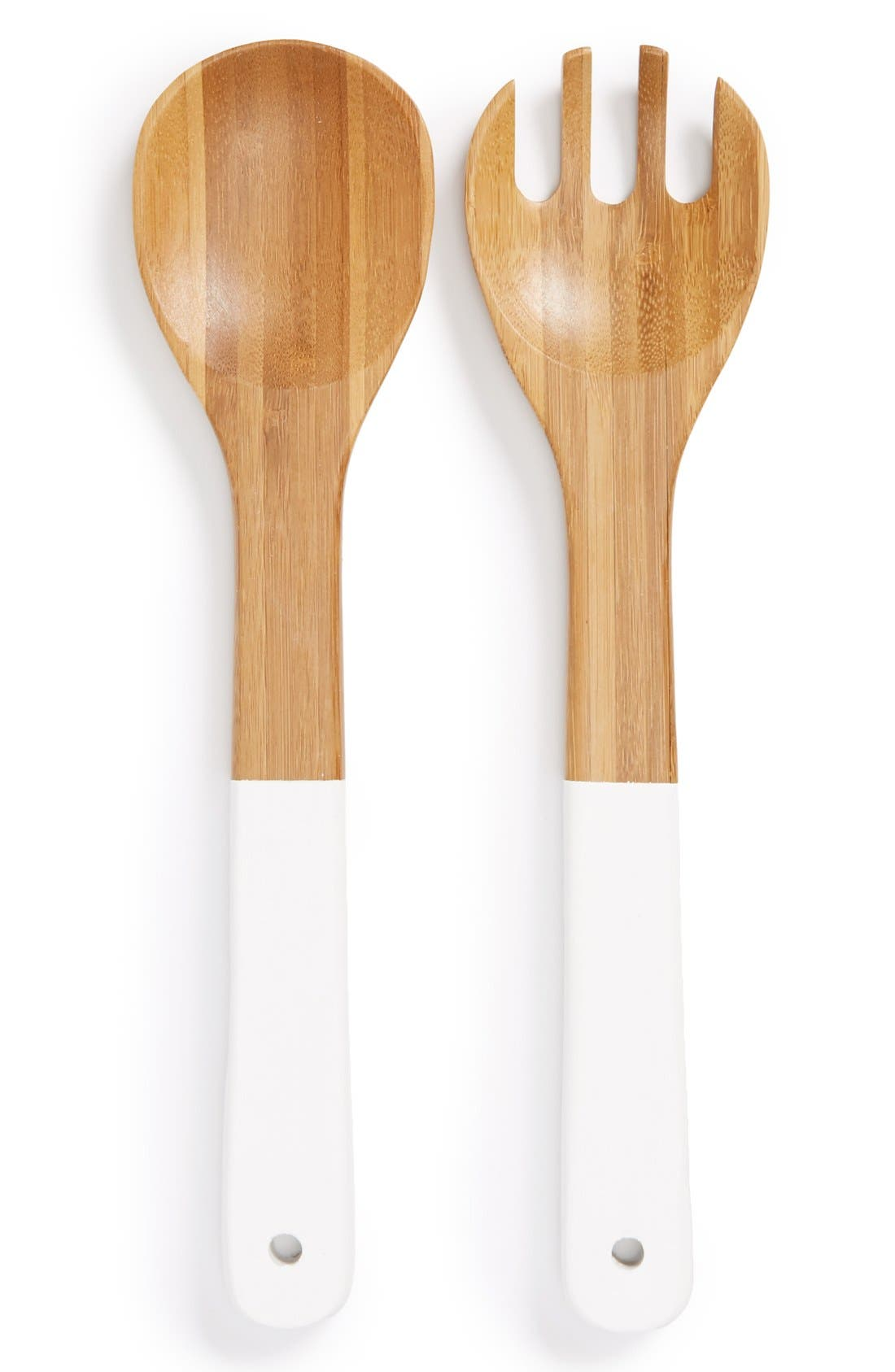 Alternate Image 1 Selected - Core Home 'Contemporary' Organic Bamboo Salad Servers