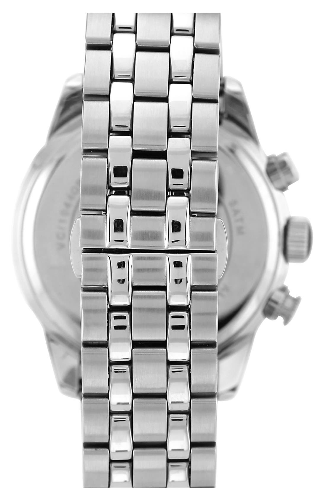 Alternate Image 2  - Vince Camuto Chronograph Round Bracelet Watch, 45mm