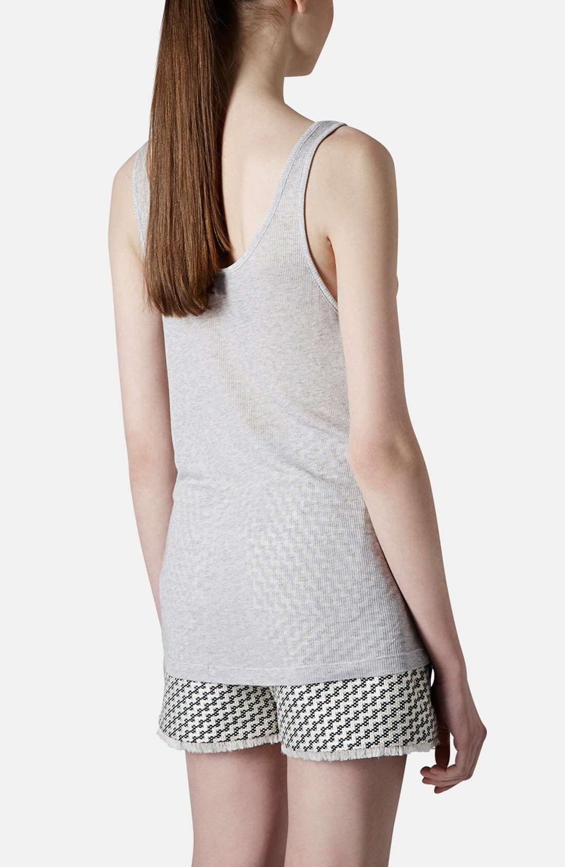 Alternate Image 2  - Topshop Boutique Skinny Tank