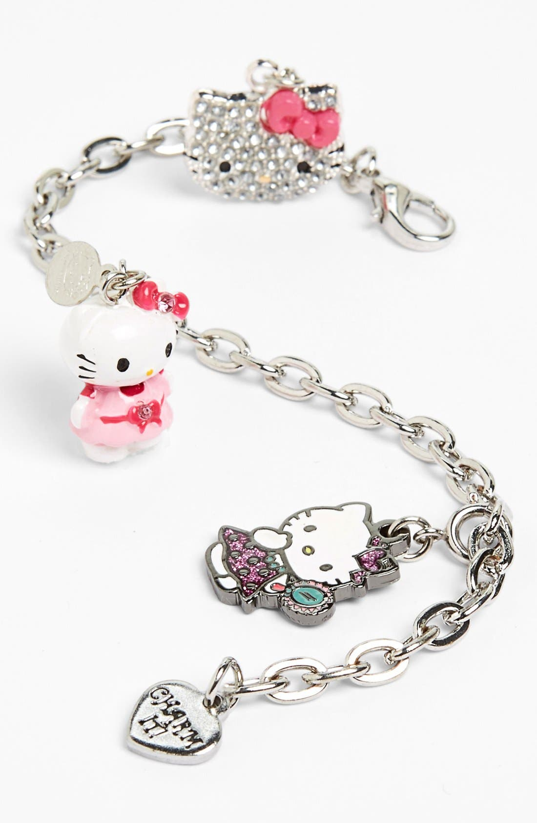 Alternate Image 2  - CHARM IT!® 'Hello Kitty®' Charm Bracelet Gift Set (Girls)