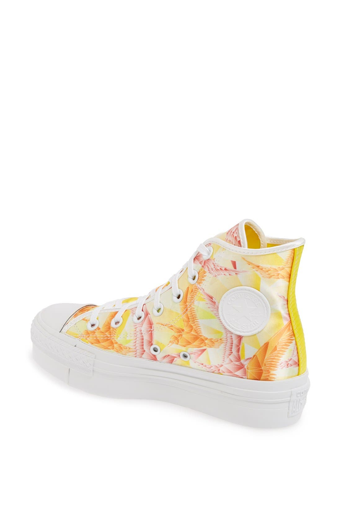 Alternate Image 2  - Converse Chuck Taylor® All Star® 'Birds' High Top Platform Sneaker