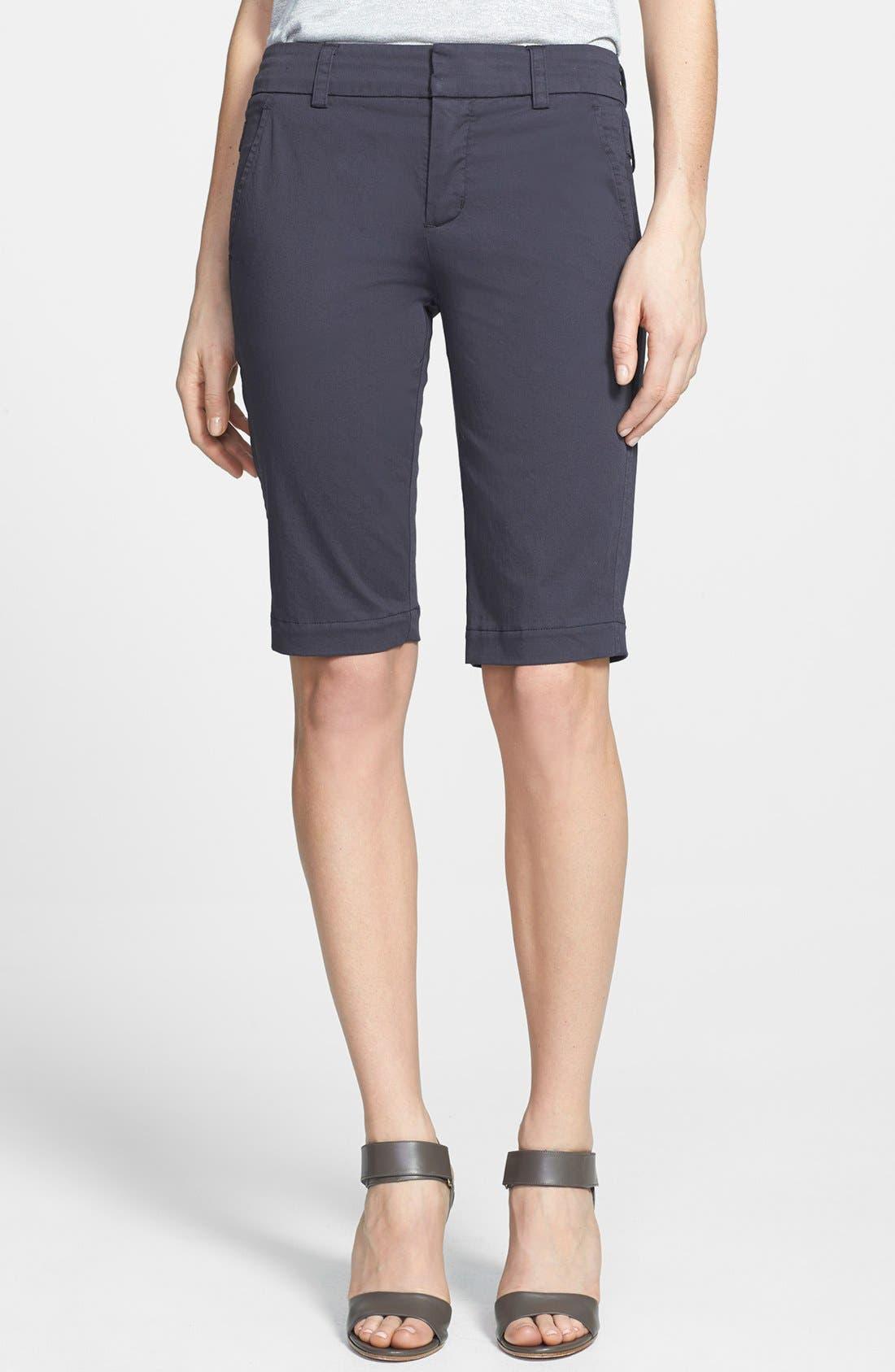 Alternate Image 1 Selected - Vince Side Buckle Bermuda Shorts