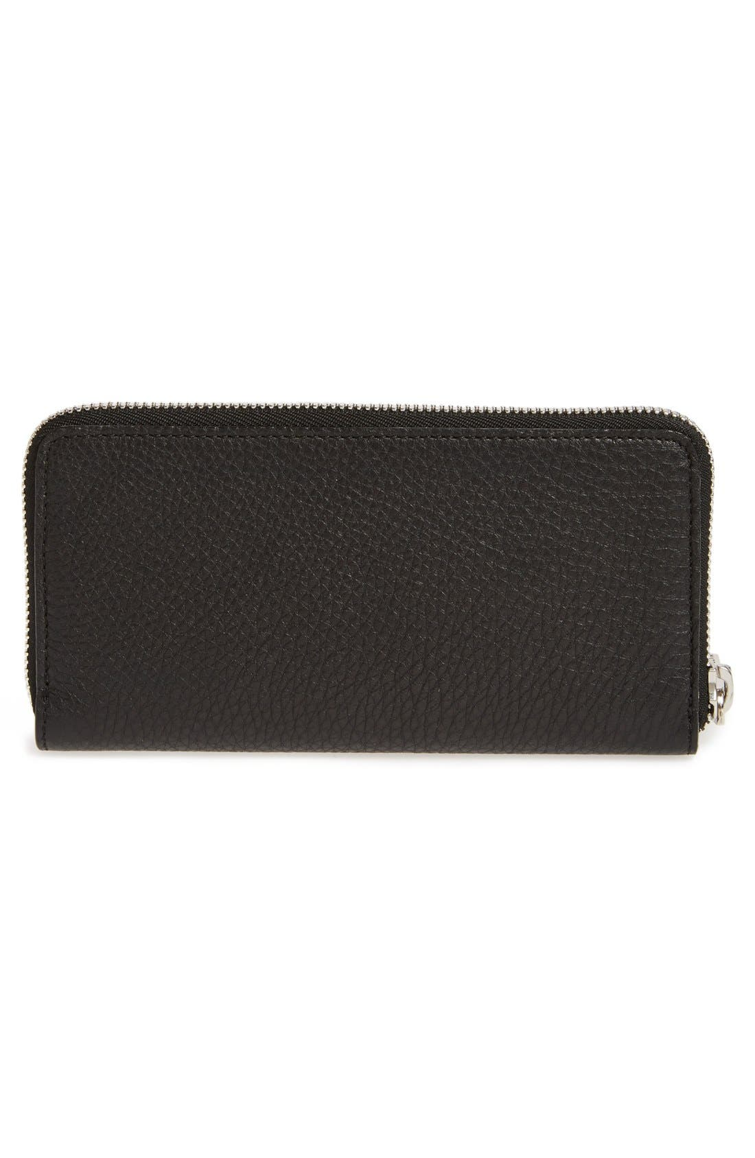 Alternate Image 2  - MARC JACOBS 'Big Apple Deluxe' Calfskin Leather Wallet