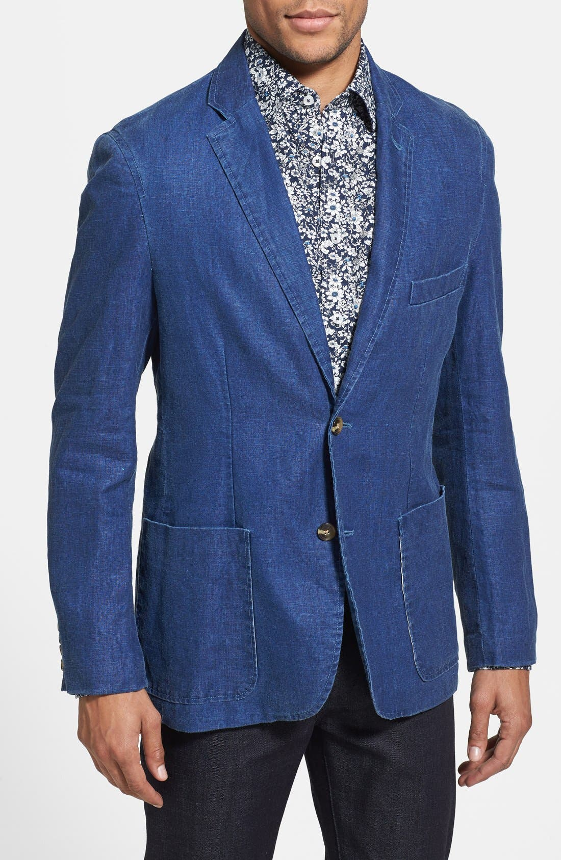 Alternate Image 1 Selected - Report Collection Linen Sport Coat