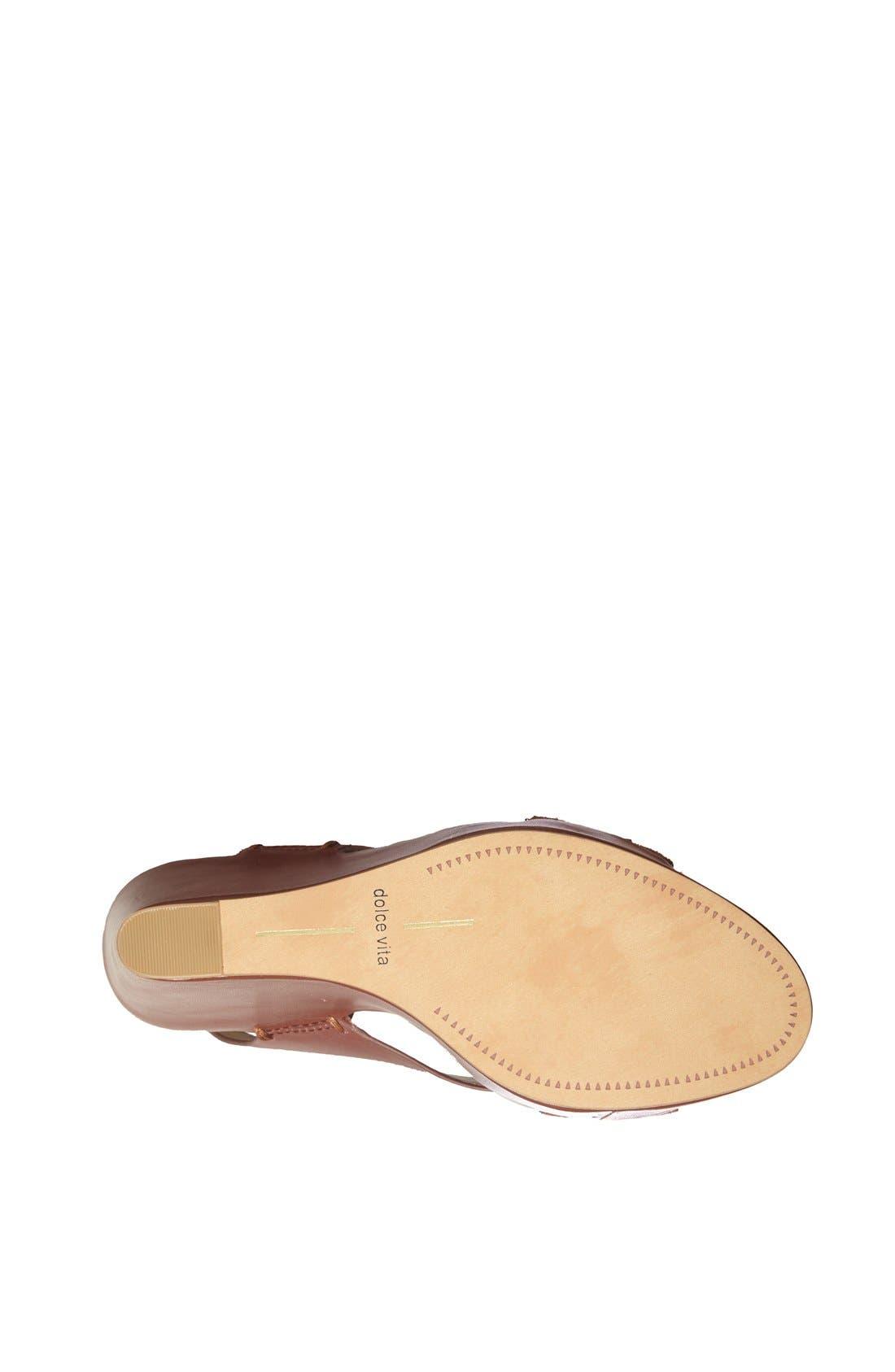 Alternate Image 4  - Dolce Vita 'Berit' Platform Sandal