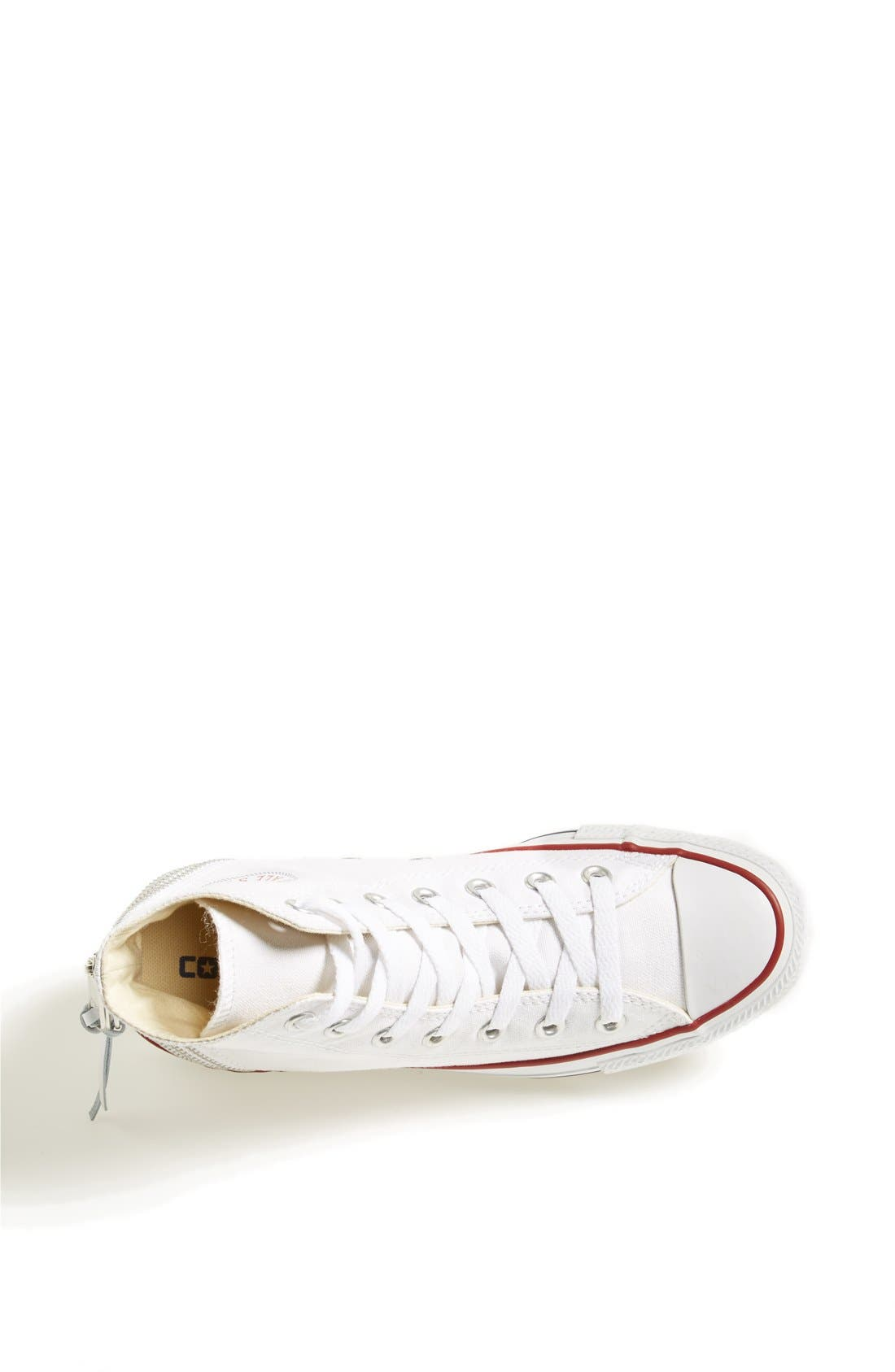 Alternate Image 3  - Converse Chuck Taylor® All Star® Triple Zip Canvas Sneaker (Women)