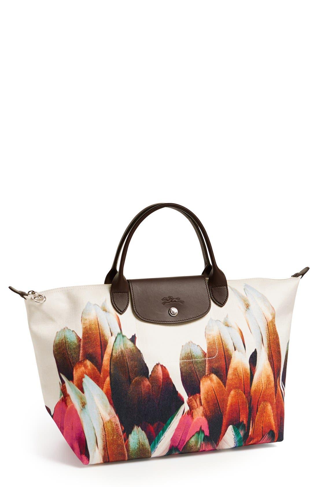 Alternate Image 1 Selected - Longchamp 'Medium Tribu' Handbag