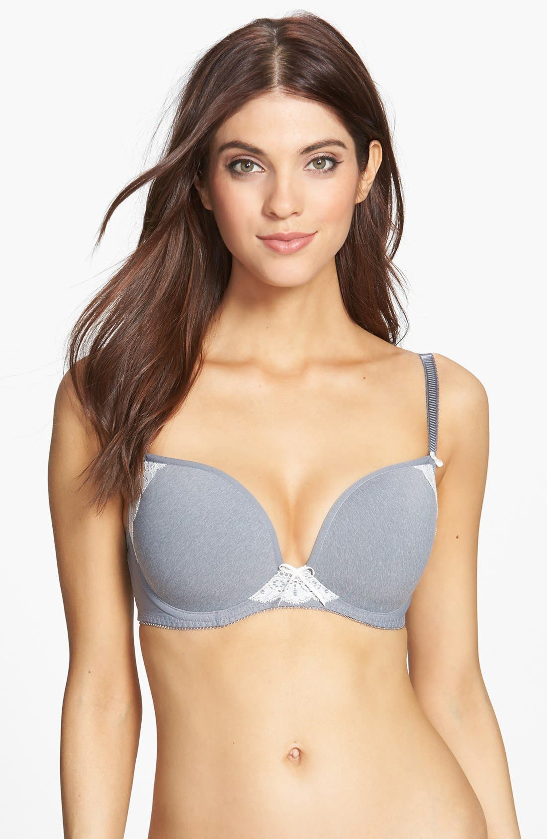 Main Image - Freya 'Deco Delight' Convertible Underwire Molded Plunge Bra (D-Cup & Up) (Online Only)