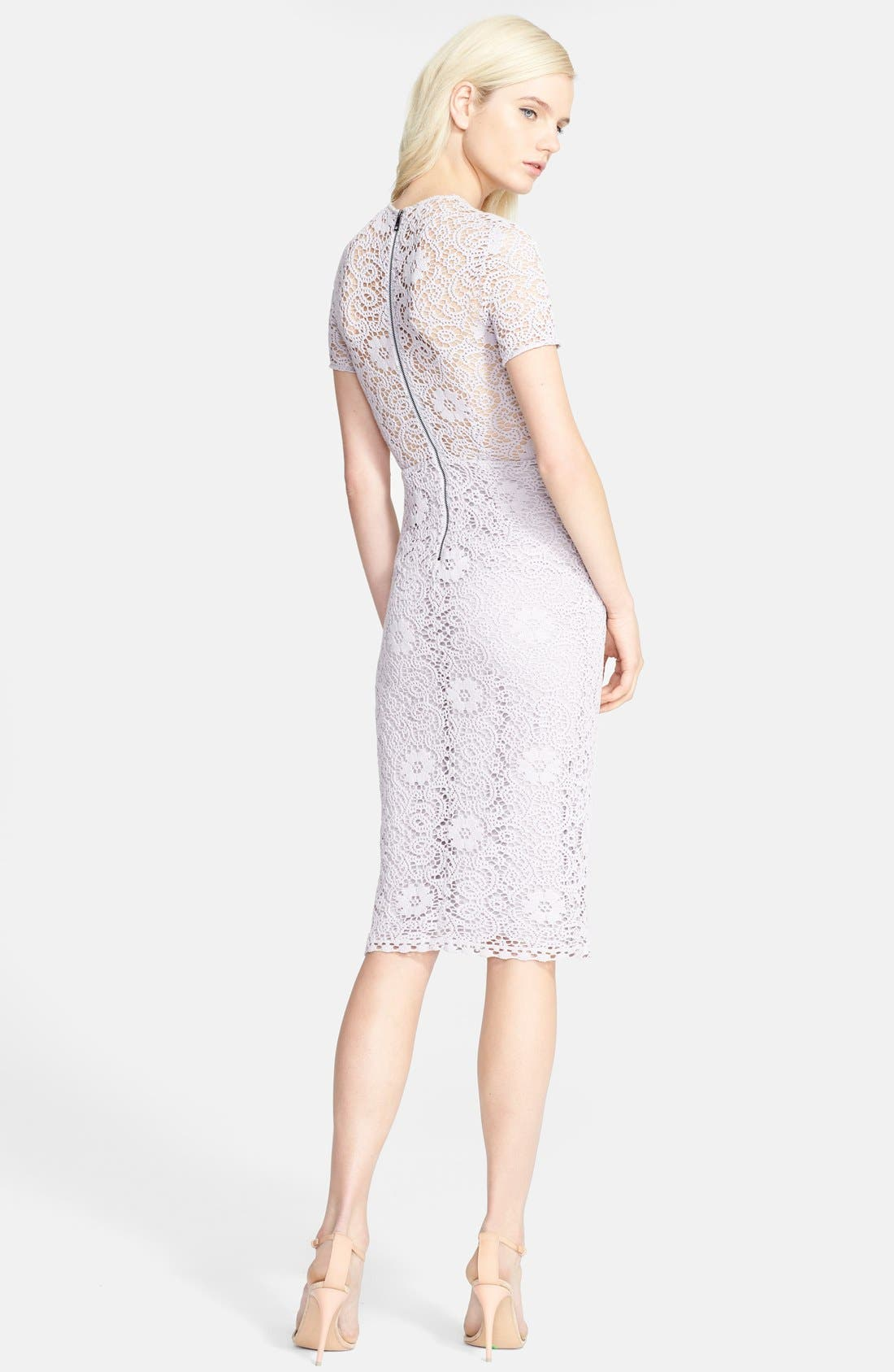 Alternate Image 2  - Burberry London 'Lynnie' Lace Pencil Dress