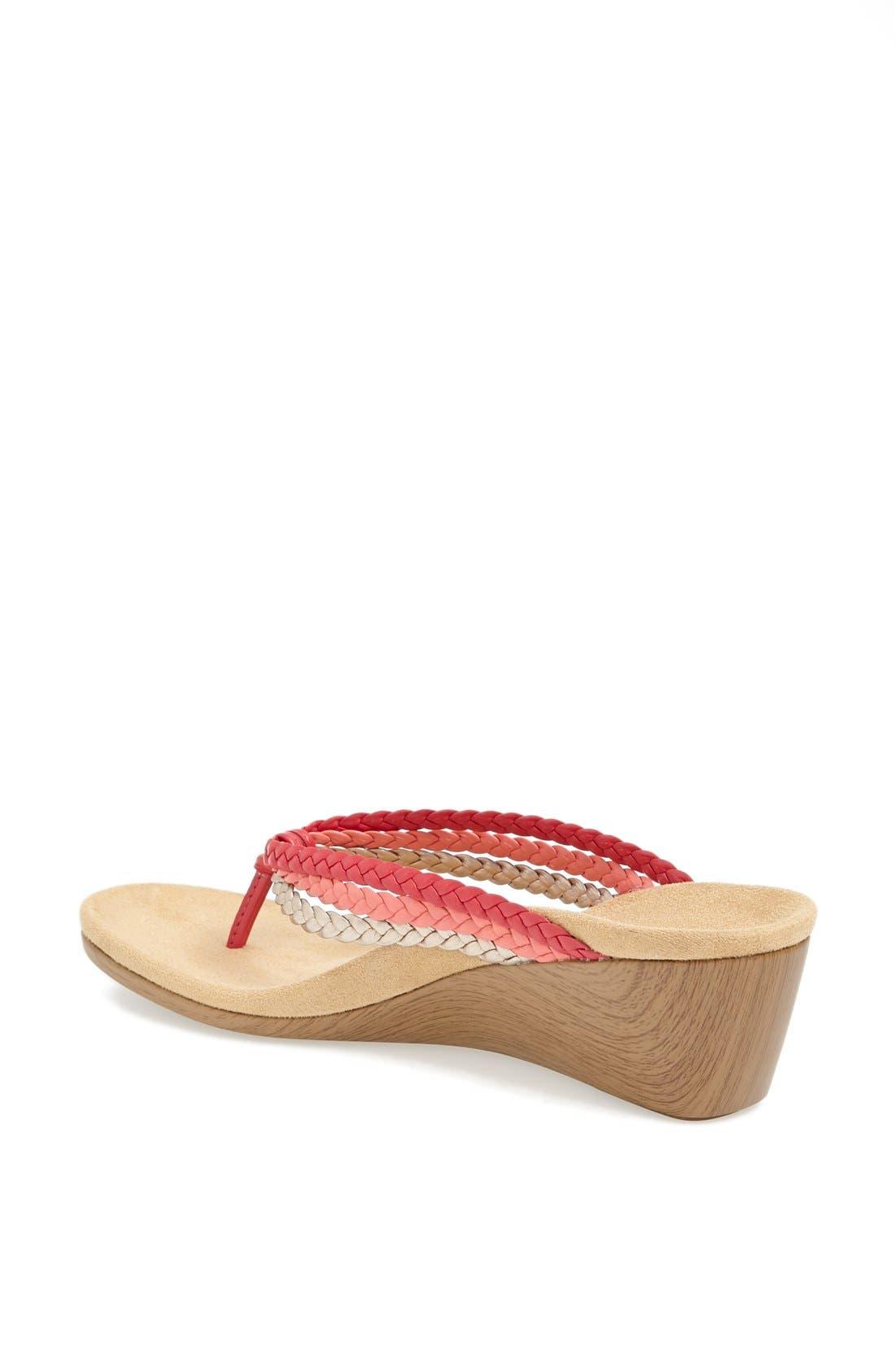 Alternate Image 2  - Vionic 'Ramba' Wedge Sandal