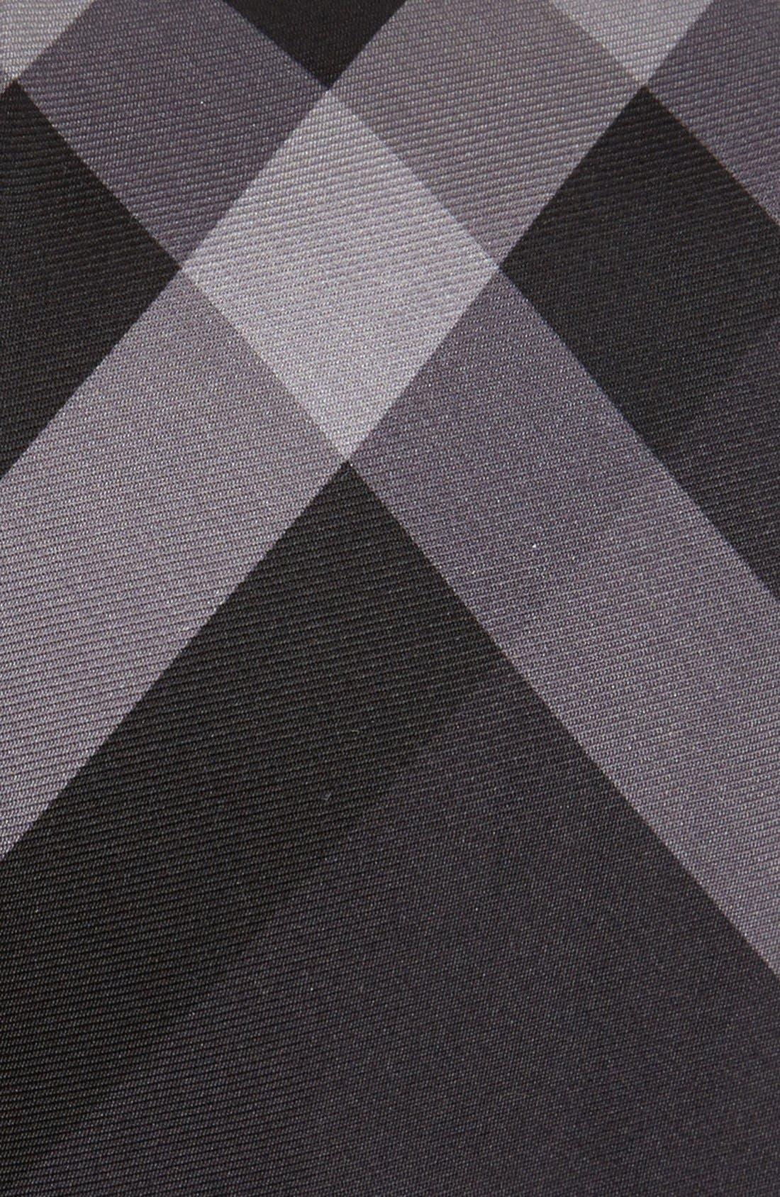 Alternate Image 2  - Burberry London Check Silk Tie