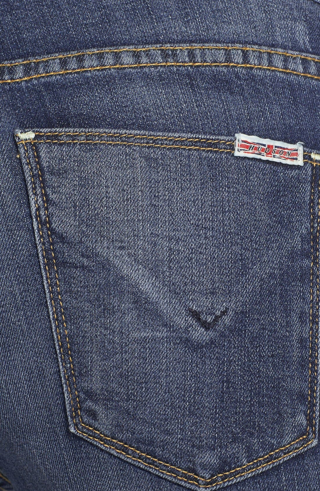 Alternate Image 3  - Hudson Jeans 'Muse' Cuff Crop Jeans (Indie)