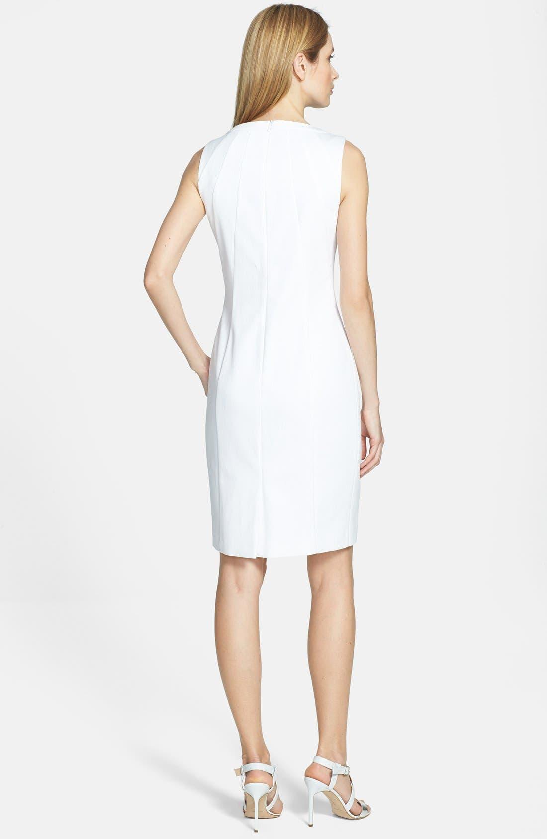 Alternate Image 2  - BOSS HUGO BOSS 'Dijasin' Sleeveless Sheath Dress
