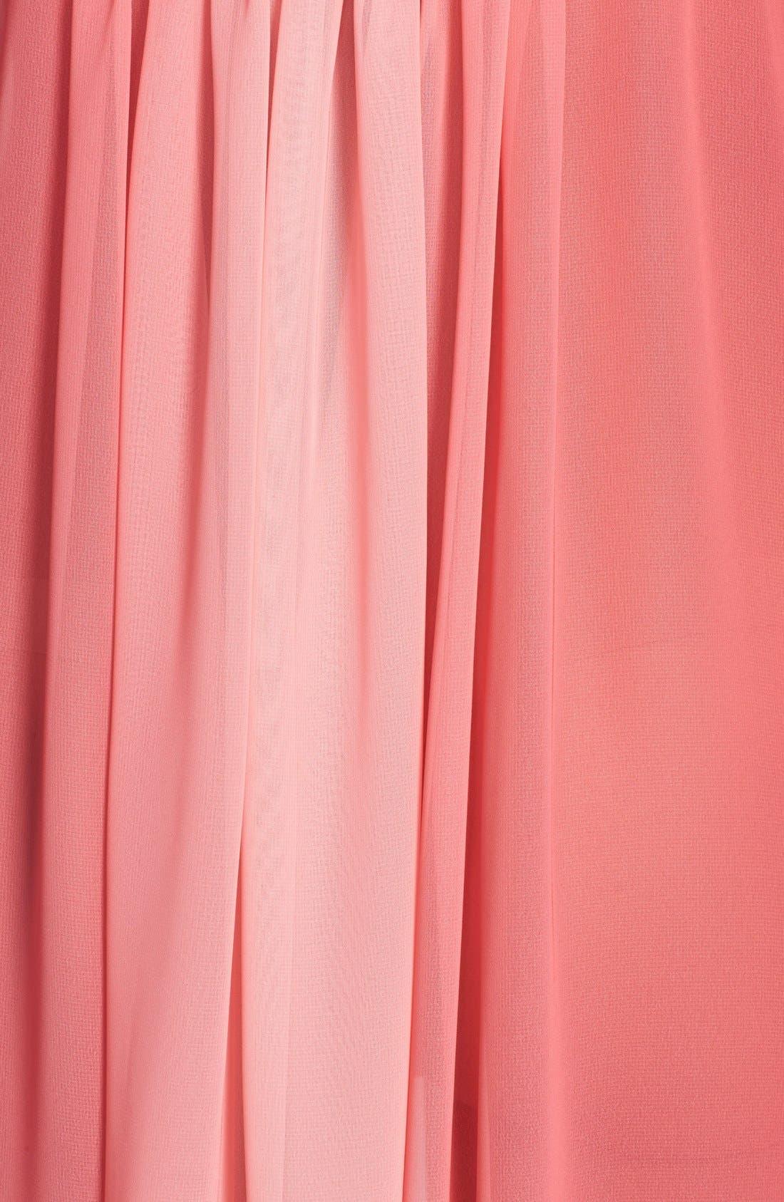 Alternate Image 3  - Oscar de la Renta Sleepwear 'Tranquil Sky' Nightgown