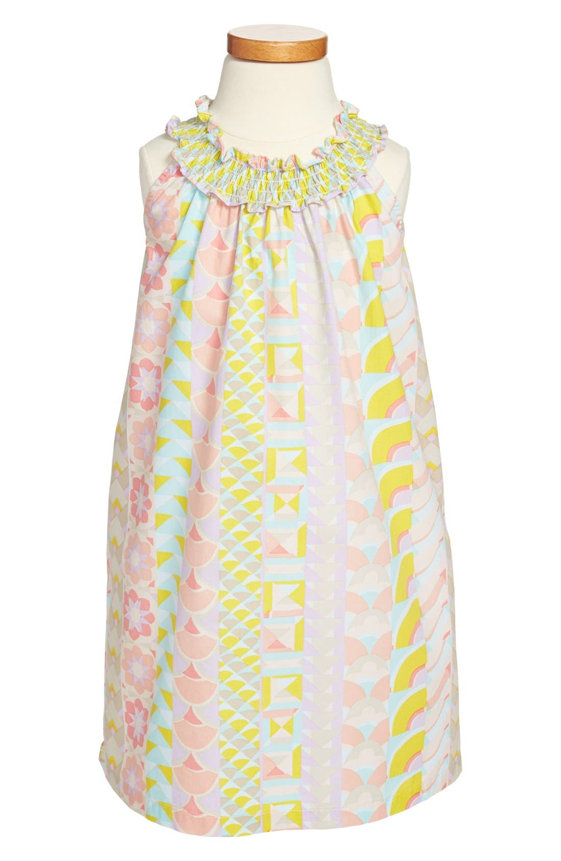 Alternate Image 1 Selected - Tea Collection 'La Mamounia' Halter Dress (Little Girls & Big Girls)