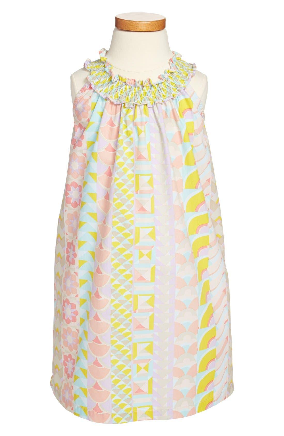 Main Image - Tea Collection 'La Mamounia' Halter Dress (Little Girls & Big Girls)