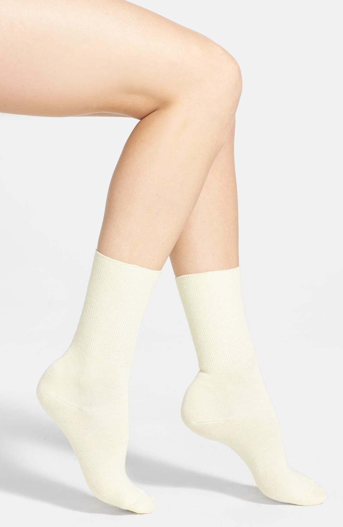 Main Image - Hue Turncuff Socks (3 for $18)