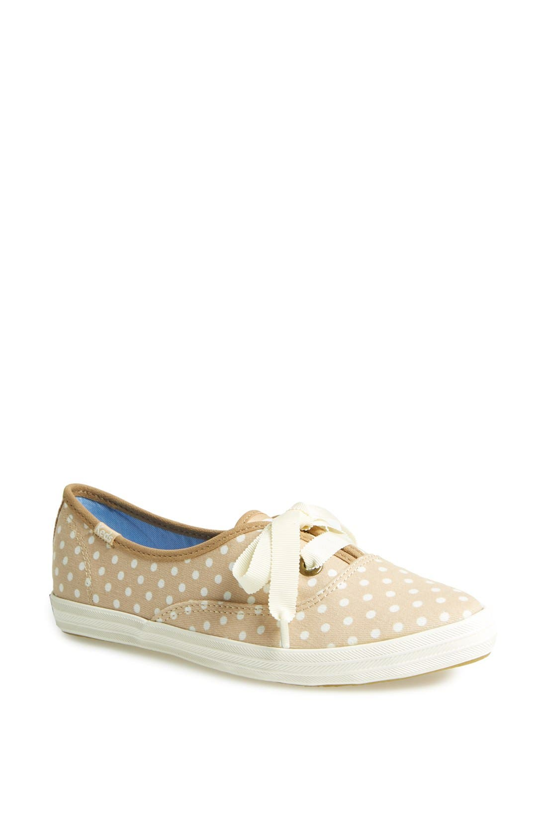 Main Image - Keds® 'Pointer' Polka Dot Canvas Sneaker (Women)