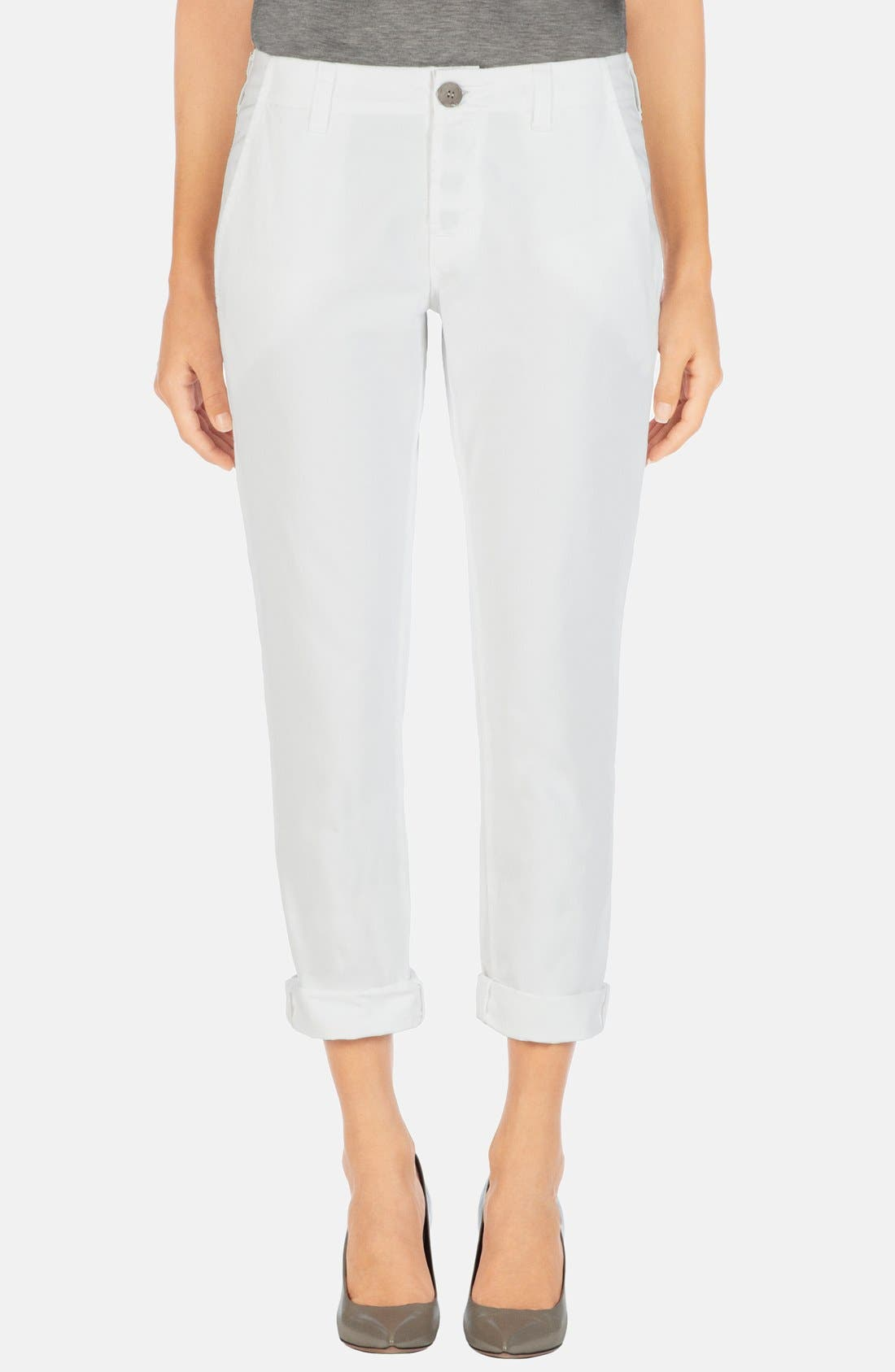 Alternate Image 1 Selected - J Brand 'Inez' Crop Slim Pants