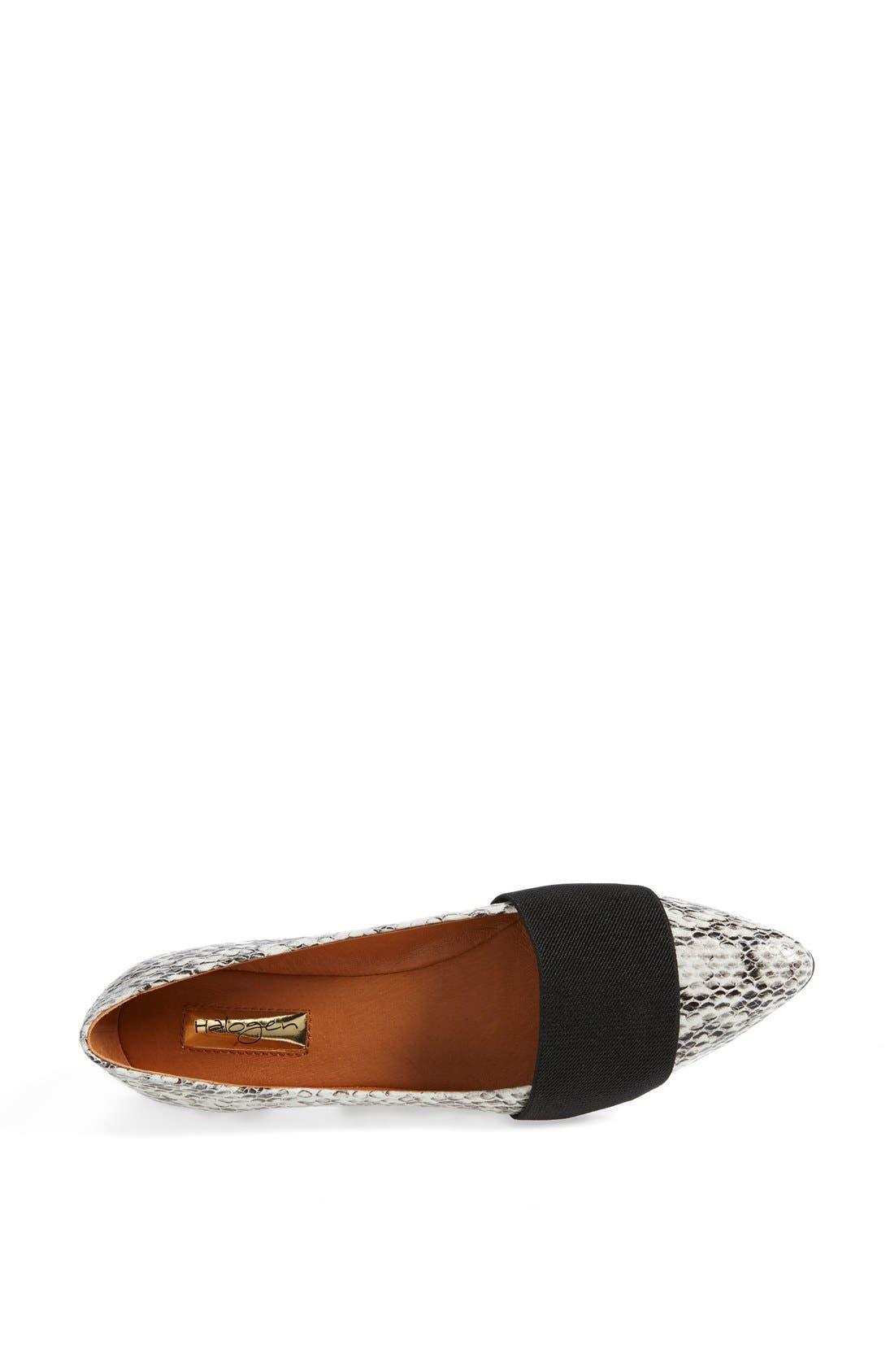 Alternate Image 3  - Halogen® 'Leah' Leather Flat (Women)