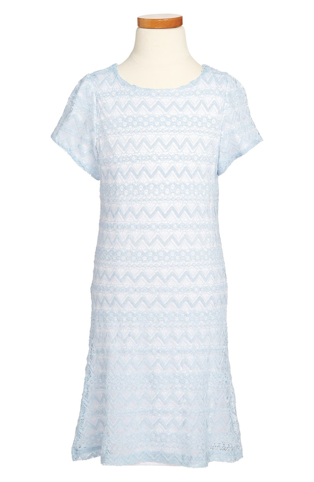 Alternate Image 1 Selected - Laundry by Shelli Segal 'Lacey' Dress (Big Girls)