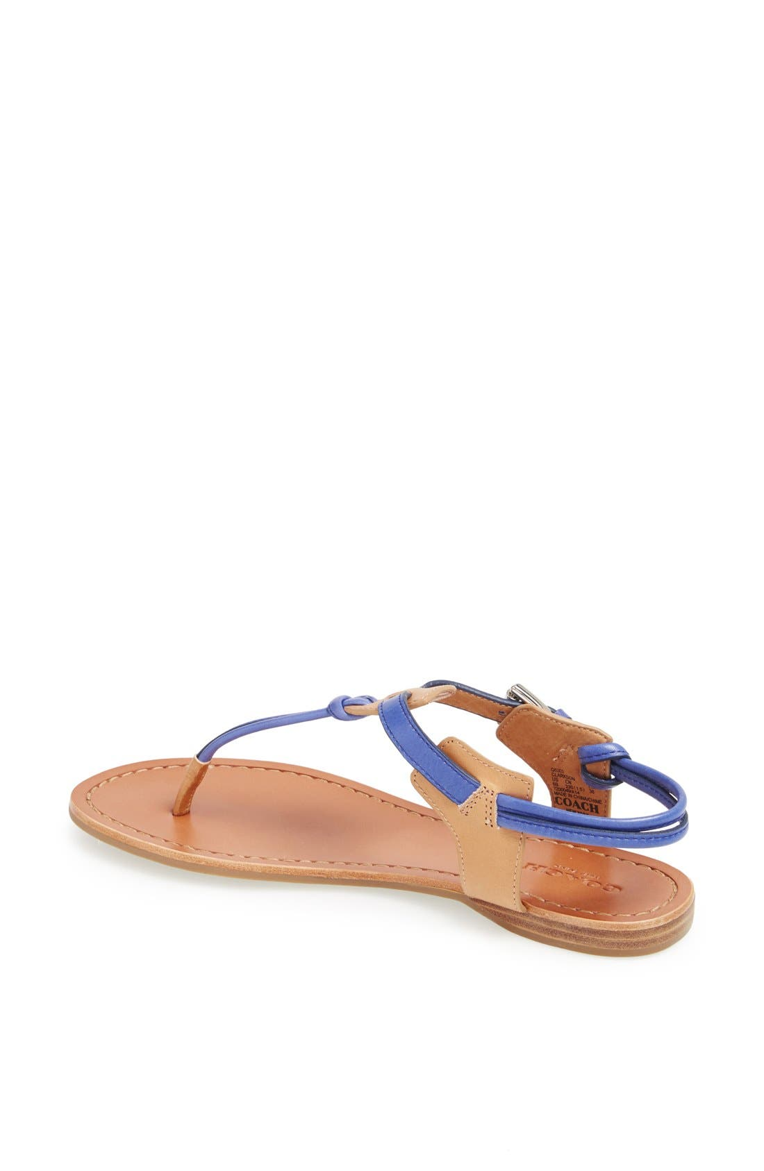 Alternate Image 2  - COACH 'Clarkson' Sandal