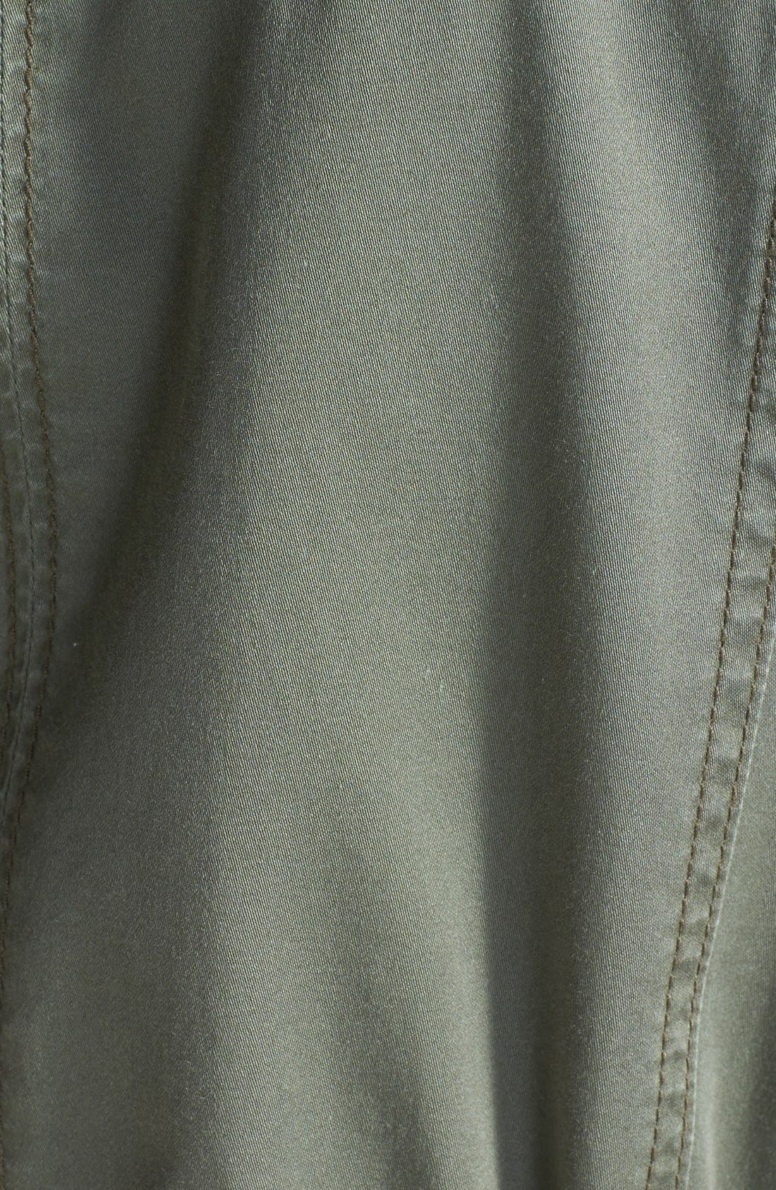 Alternate Image 3  - Caslon Roll Sleeve Utility Jacket