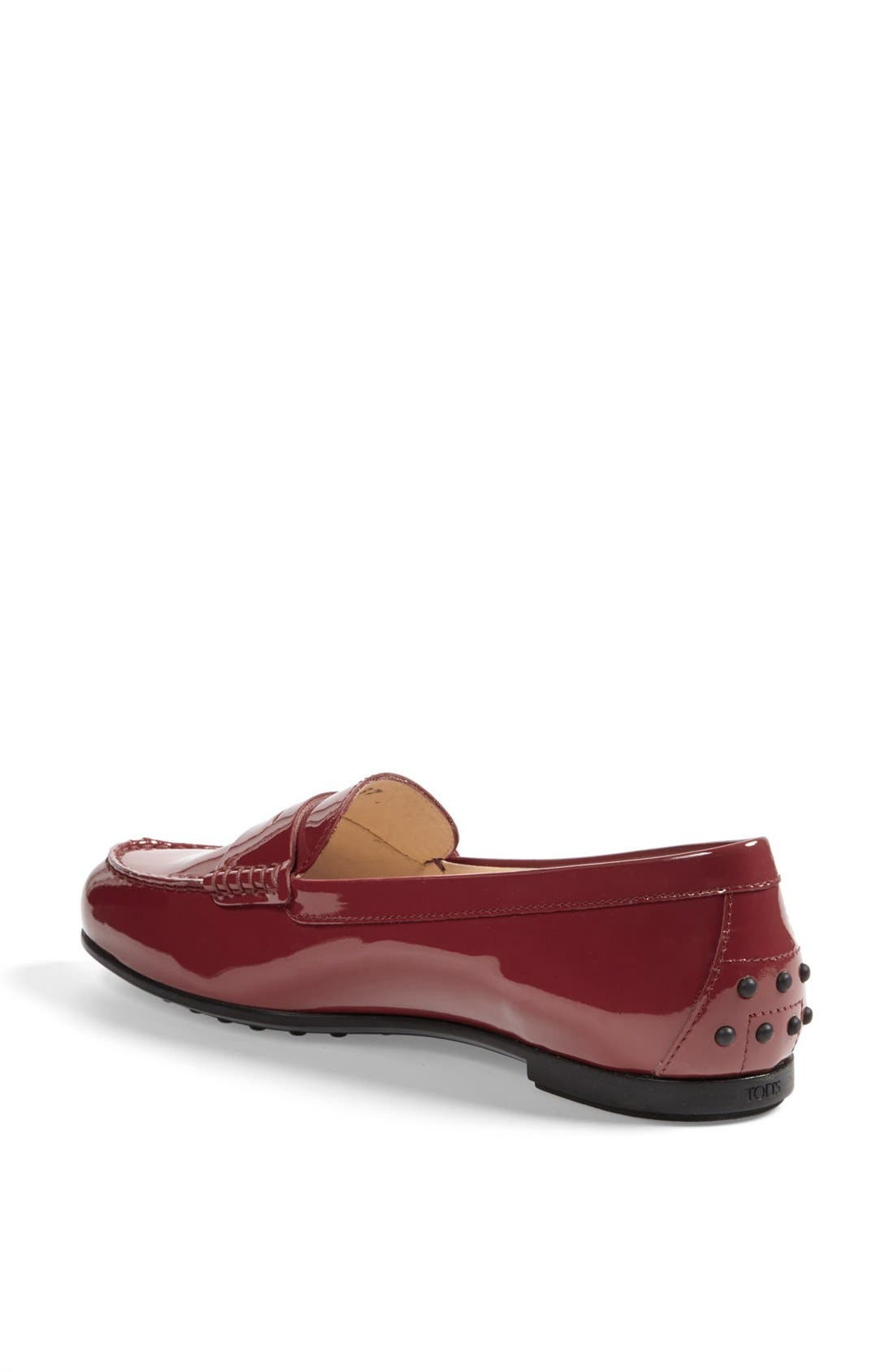 Alternate Image 2  - Tod's 'Gomma' Patent Leather Driving Moccasin