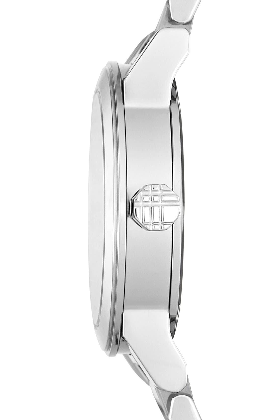 Alternate Image 4  - Burberry 'New Classic' Small Diamond Dial Bracelet Watch, 26mm (Regular Retail Price: $695.00)