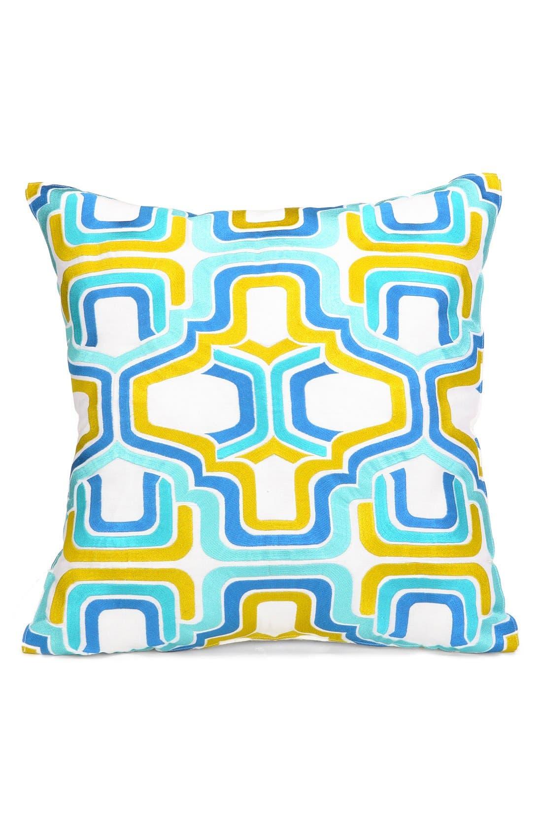 Main Image - Trina Turk 'Santorini' Square Accent Pillow