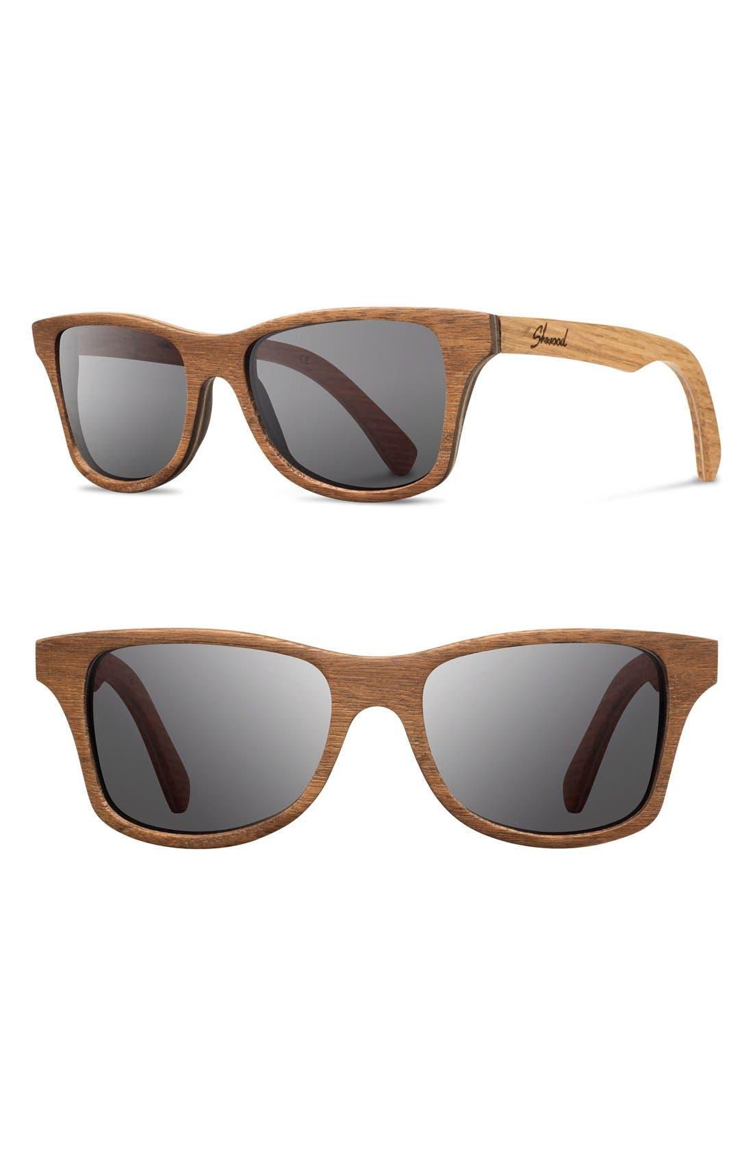 Main Image - Shwood 'Canby' 54mm Wood Sunglasses