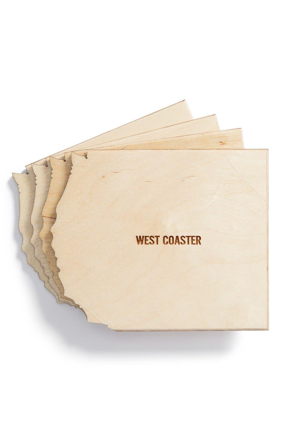 Alternate Image 1 Selected - Reed Wilson Design 'North Coaster' Coasters (Set of 4)