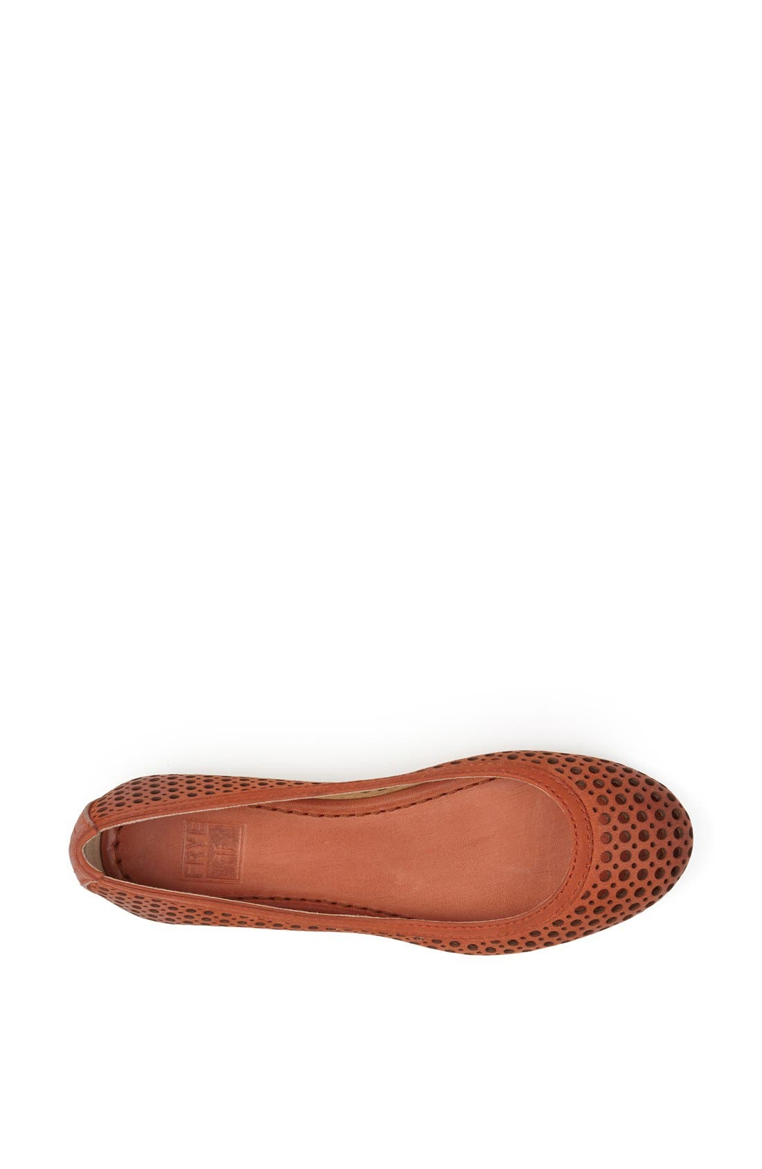 Alternate Image 3  - Frye 'Carson' Perforated Leather Ballet Flat