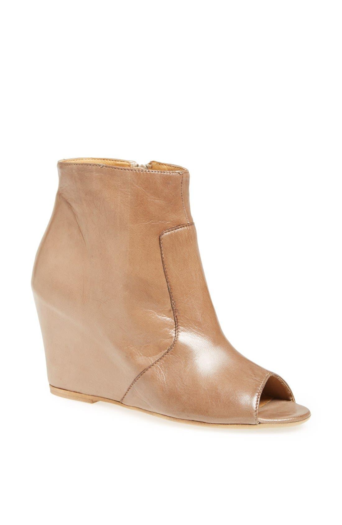 Main Image - Paola Ferri Open Toe Ankle Boot