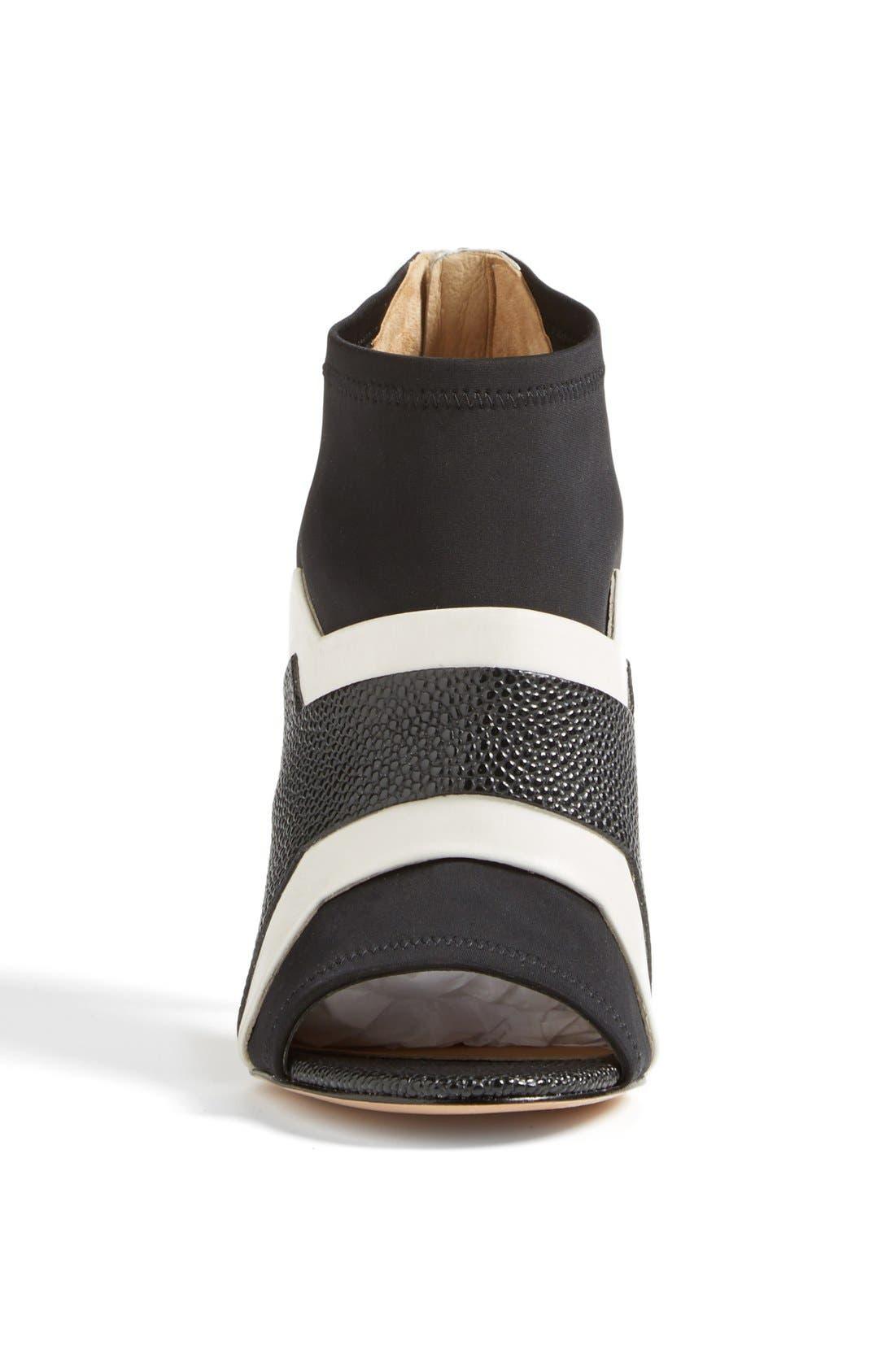Alternate Image 3  - L.A.M.B. 'Deedra' Neoprene & Leather Bootie