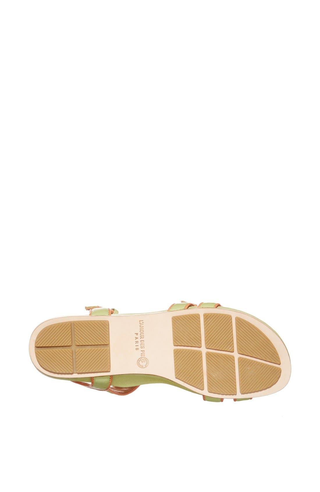 Alternate Image 4  - L'Amour des Pieds'Dede' Sandal