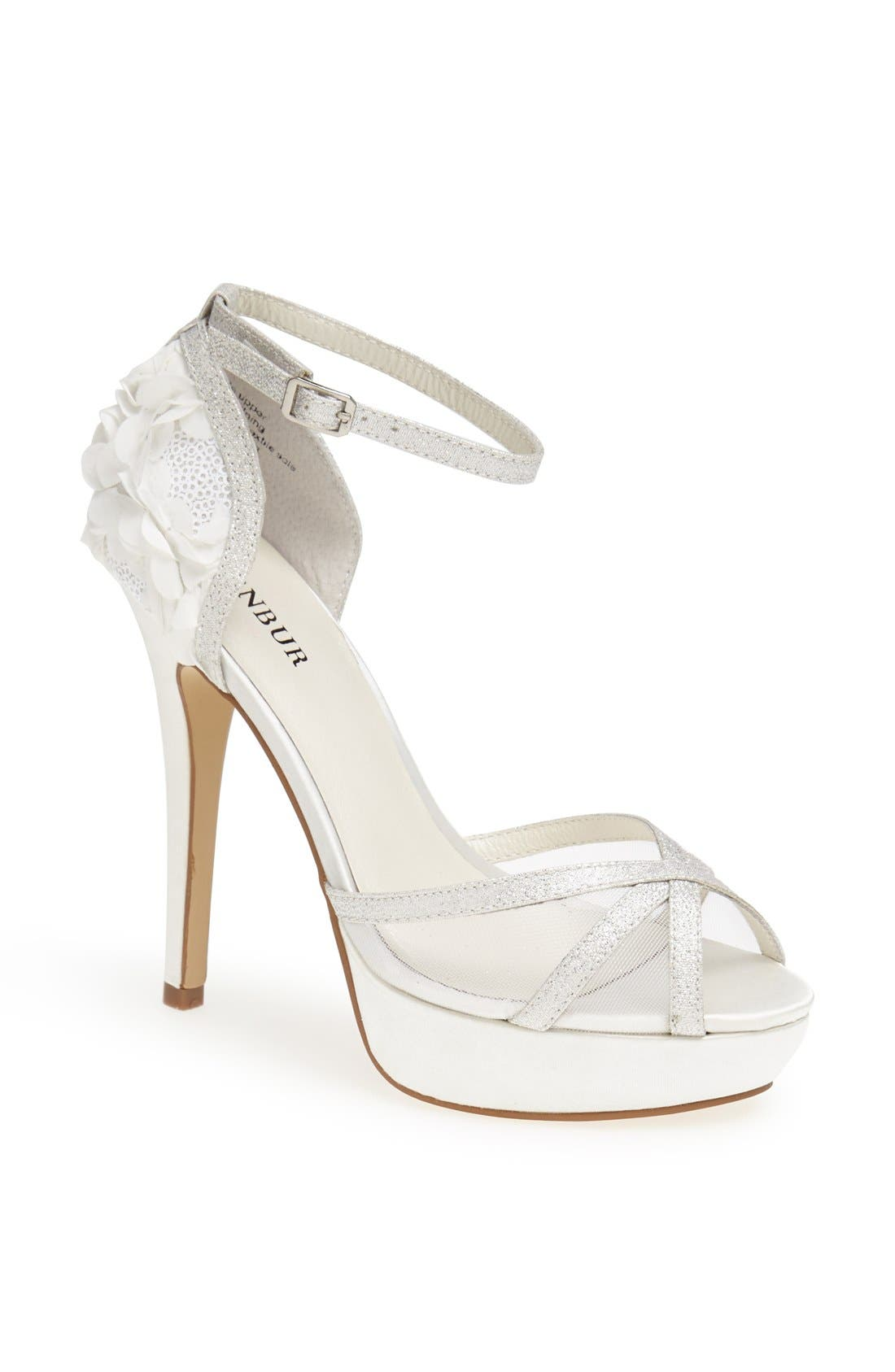 Alternate Image 1 Selected - Menbur 'Iria' Satin Sandal