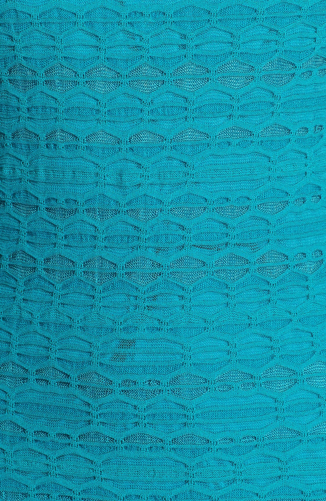 Alternate Image 3  - M Missoni Sleeveless Crochet Knit Dress
