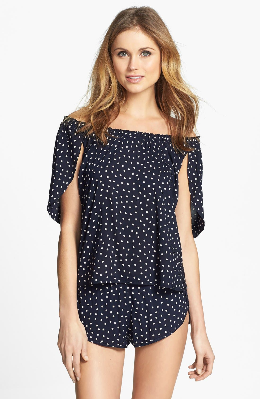 Alternate Image 3  - Only Hearts 'Emily' Pajama Shorts