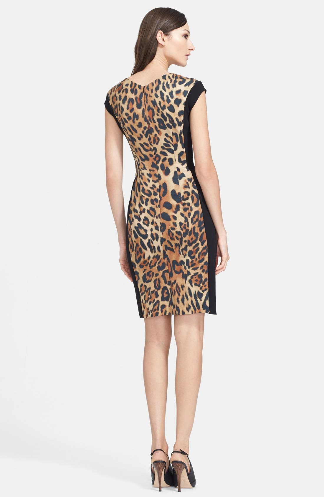 Alternate Image 2  - ESCADA Leopard Print Dress