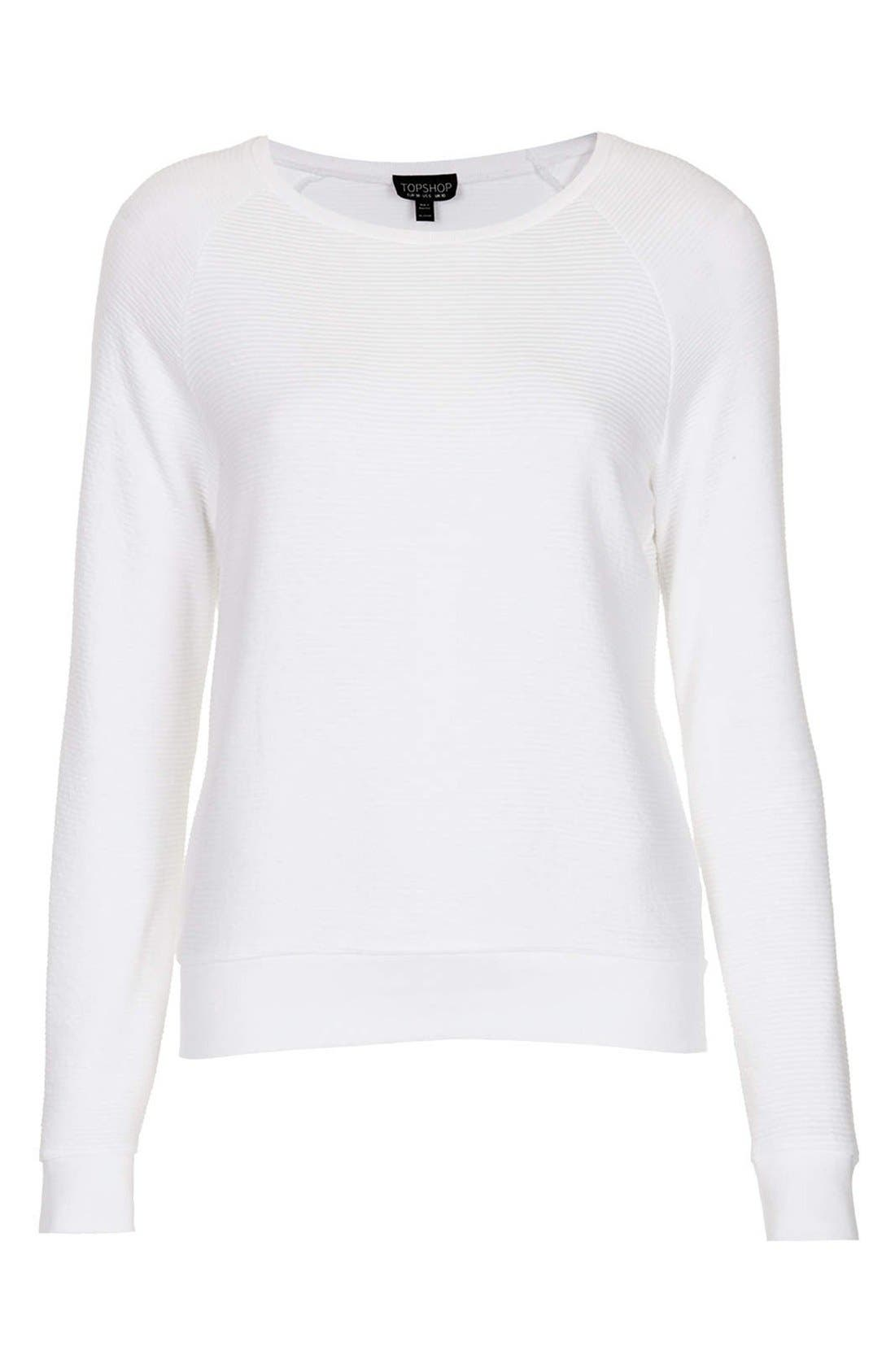 Alternate Image 3  - Topshop Rib Knit Pullover