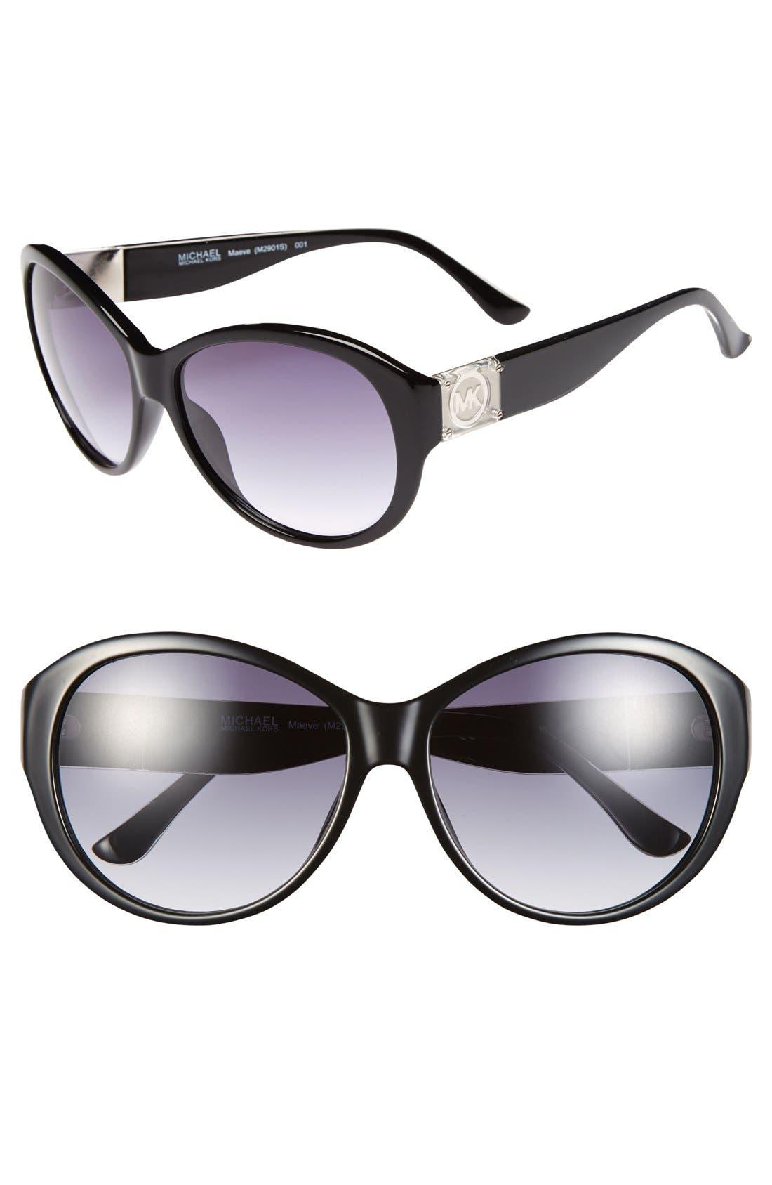 Main Image - MICHAEL Michael Kors 'Maeve' 61mm Sunglasses